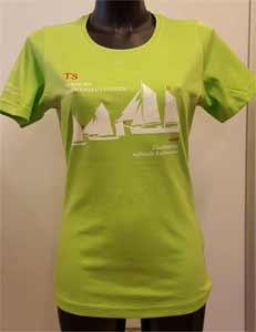 T Shirt Dame Farve Lime Medlemsrabat 20% indtast Rabatkode
